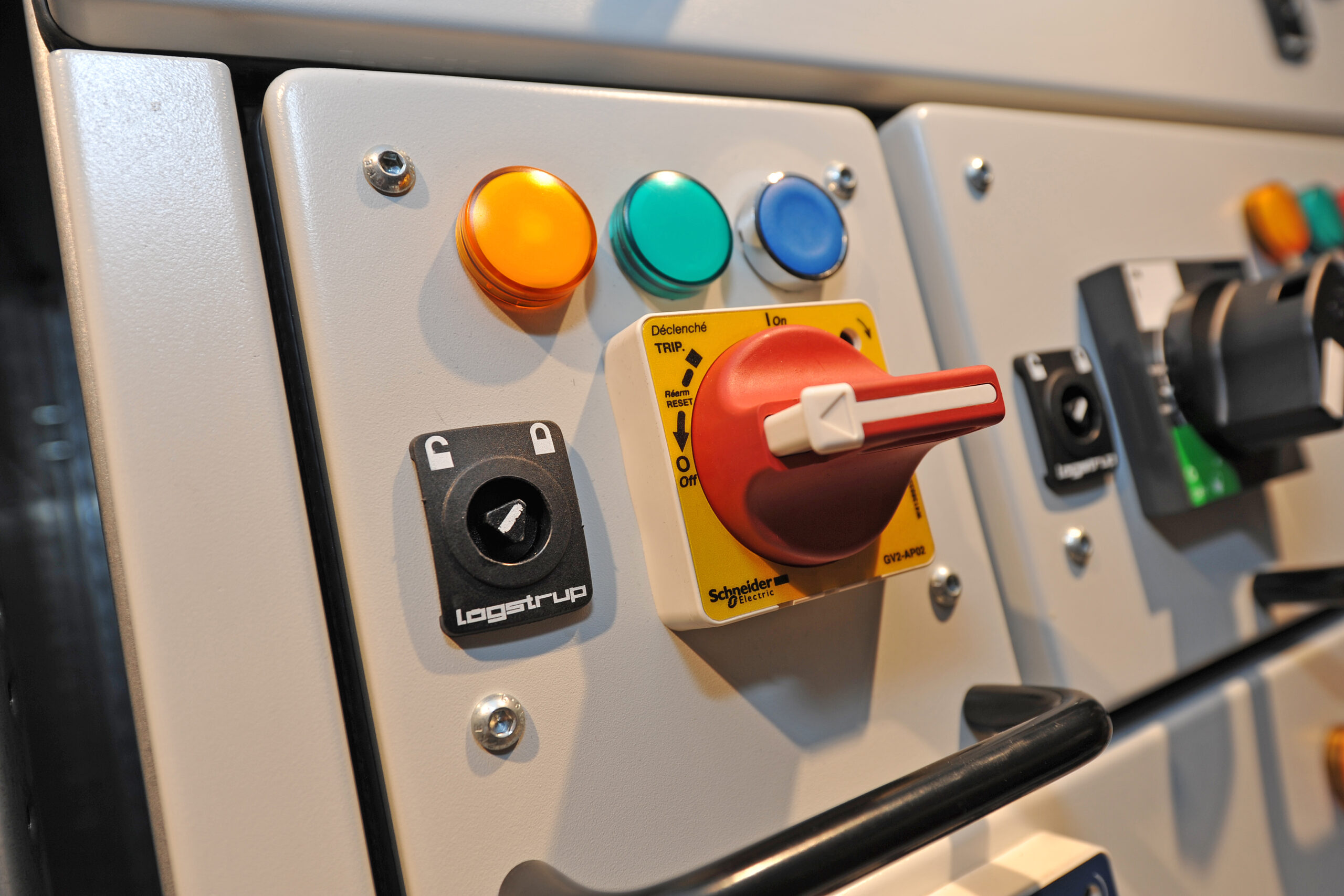 Logstrup is a manufacturer of low voltage electrical Switchgear components such as Mini-withdrawable units