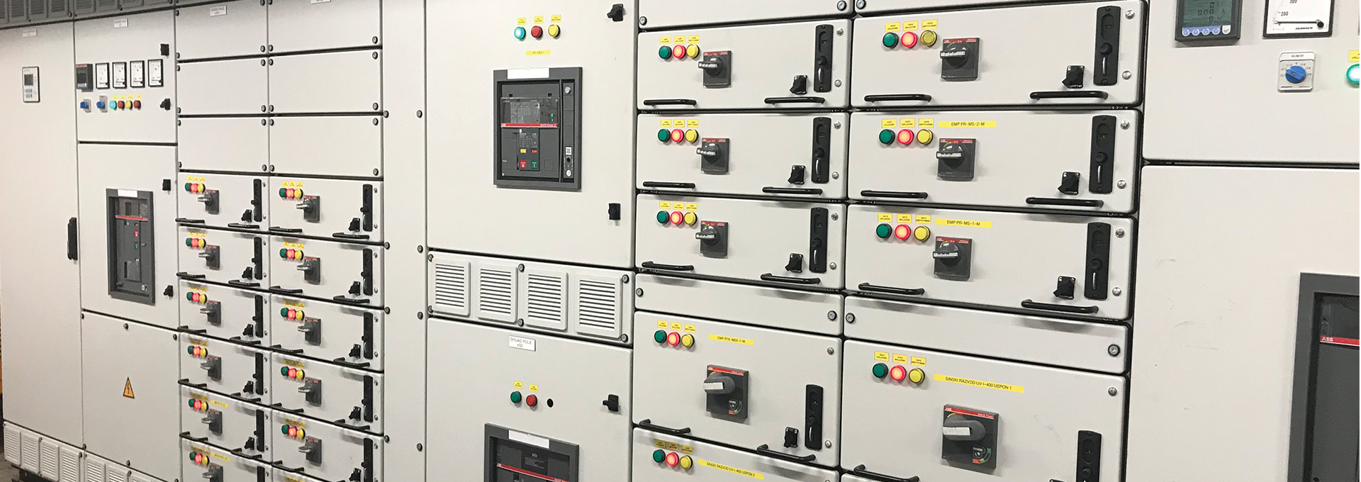 Logstrup manufactured a customised electrical switchboard for the national bank of Serbia