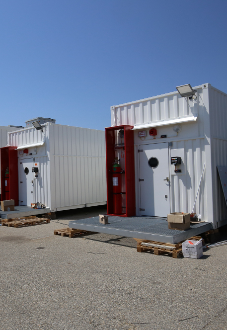 Logstrups modular system is made for Energy Power
